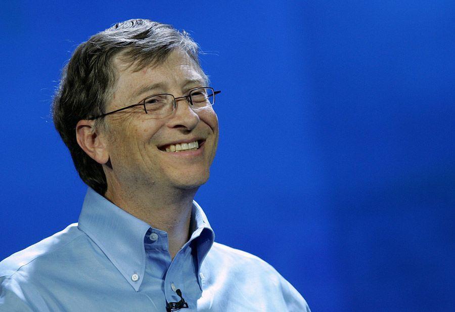 Bill Gates Blue