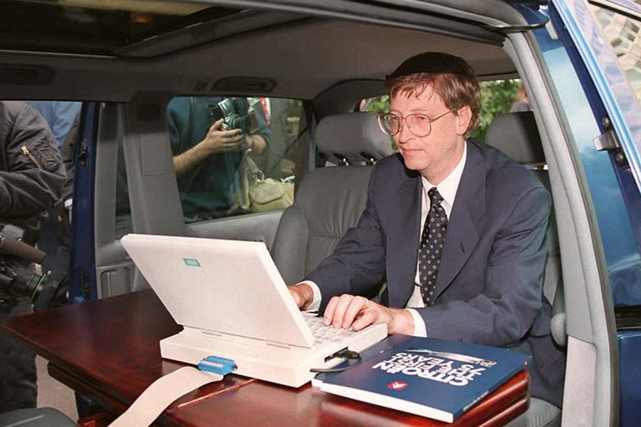 Bill Gates Computer Van