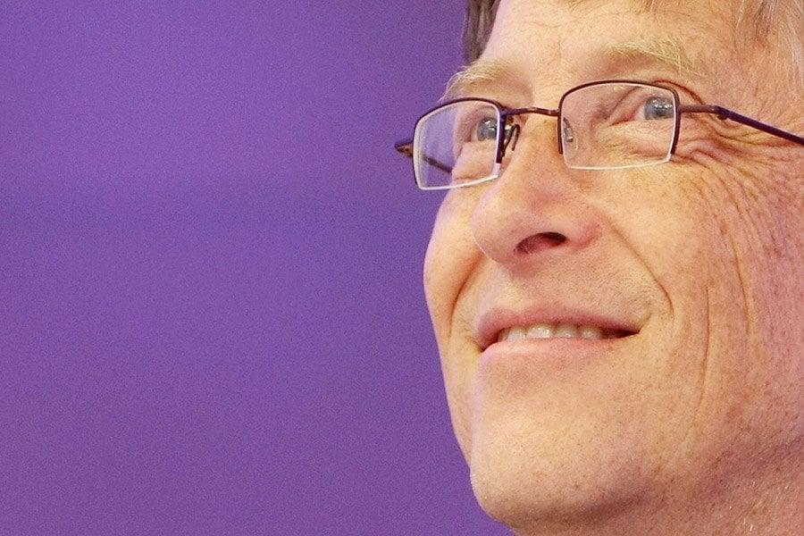 Bill Gates Purple