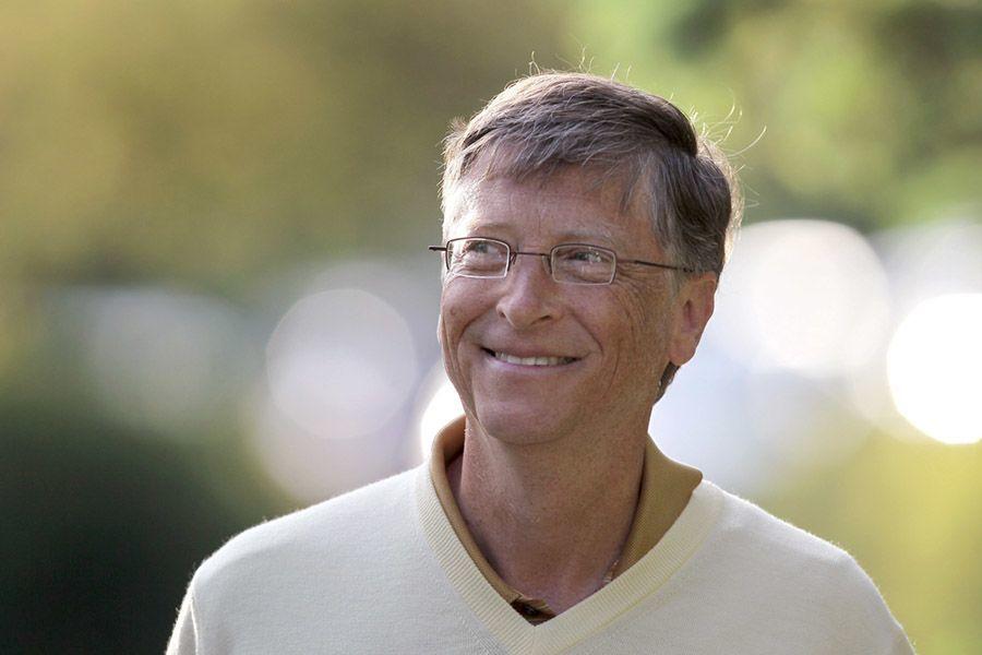 Bill Gates V Neck