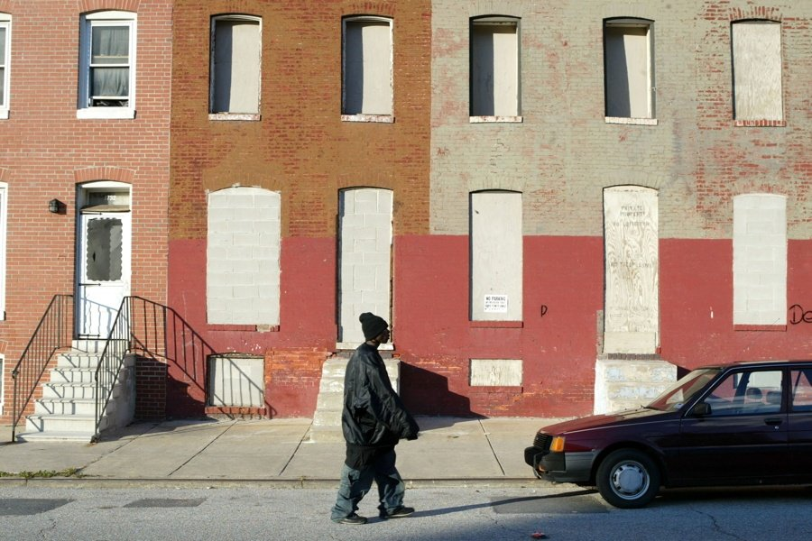 33 Baltimore Ghetto Photos That Reveal An Abandoned Wasteland