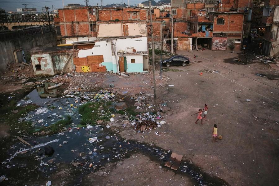 Decrepit Favela