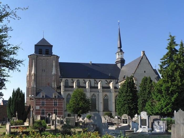 St. Dymphna Church In Geel Belgium