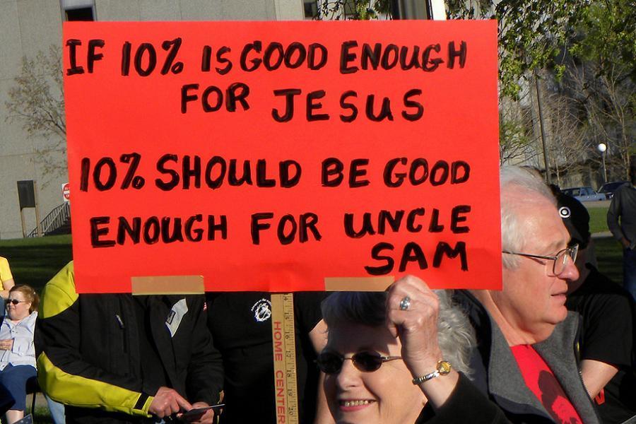 Gop Changes Jesus Taxes