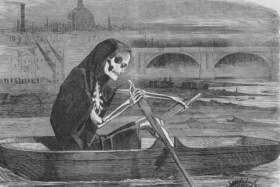 Gross History Polluted Thames