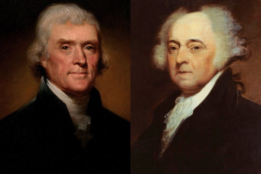 Death Of Thomas Jefferson And John Adams