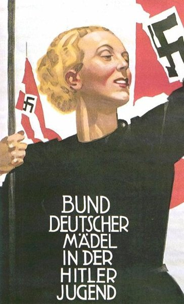 League German Girls In The Hitler Youth