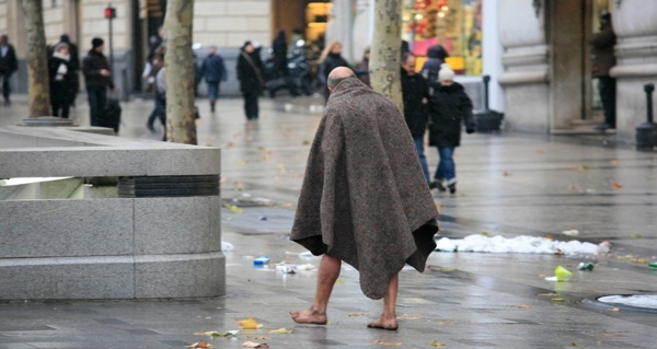 woman homeless Mentally ill