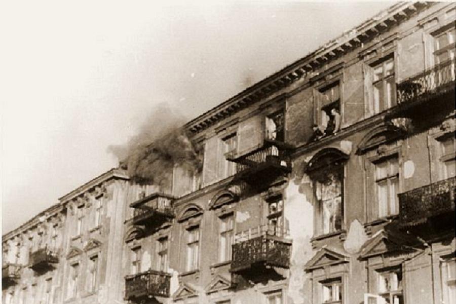 Nazi Occupation Ghetto Fire