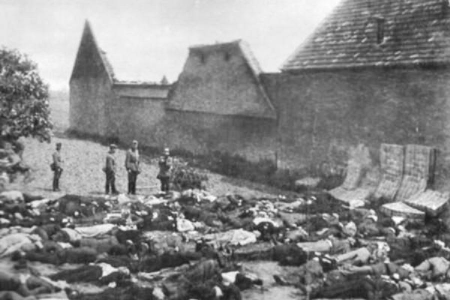 Nazi Occupation Lidice Victims