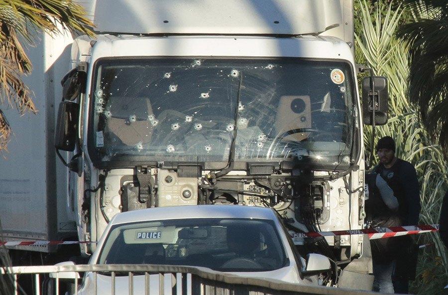 Nice Terrorist Attack Truck