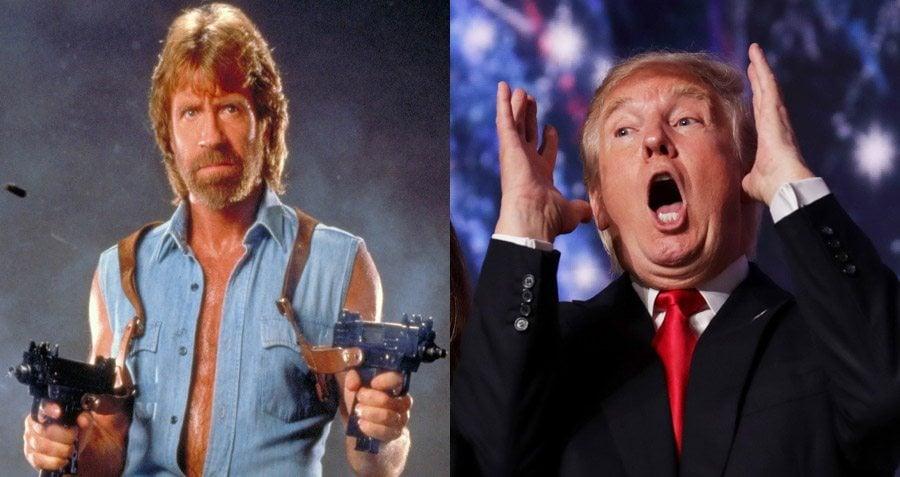 Norris Trump Guns