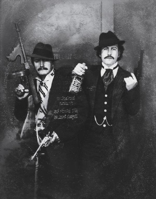 Pablo Escobar And Gustavo Gaviria