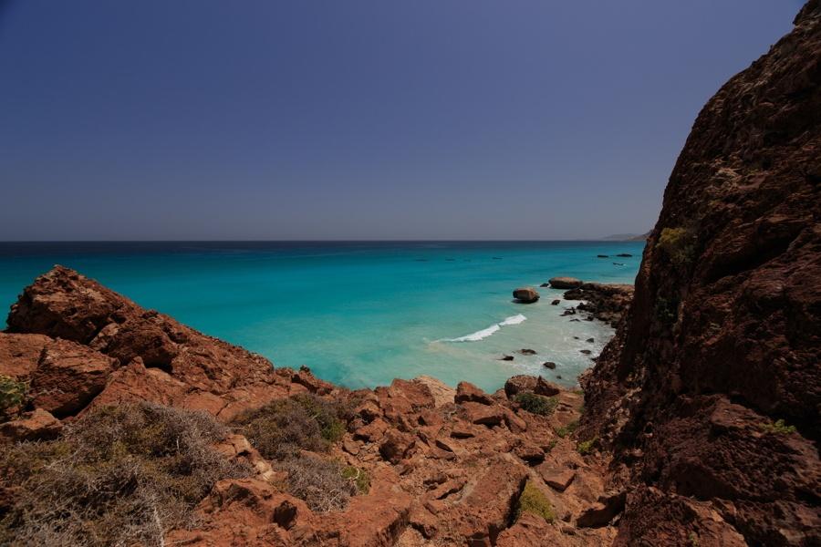 Rock Cliffs Beach Water