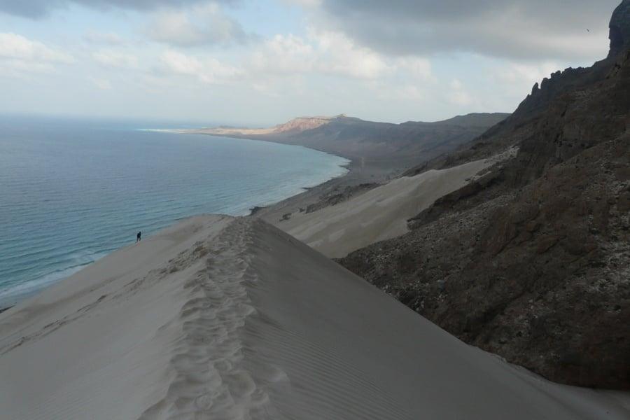 Sand Dune Beach Person