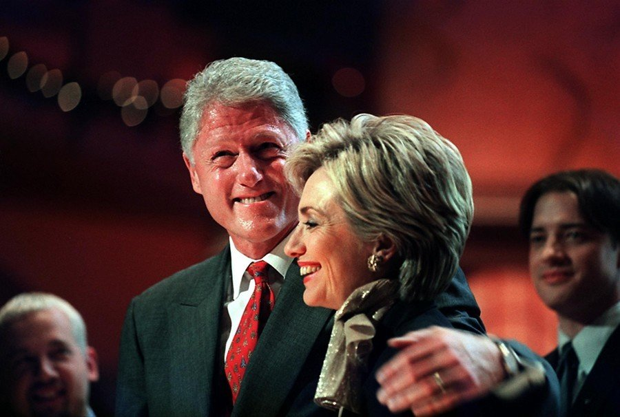 Smiling With Hillary
