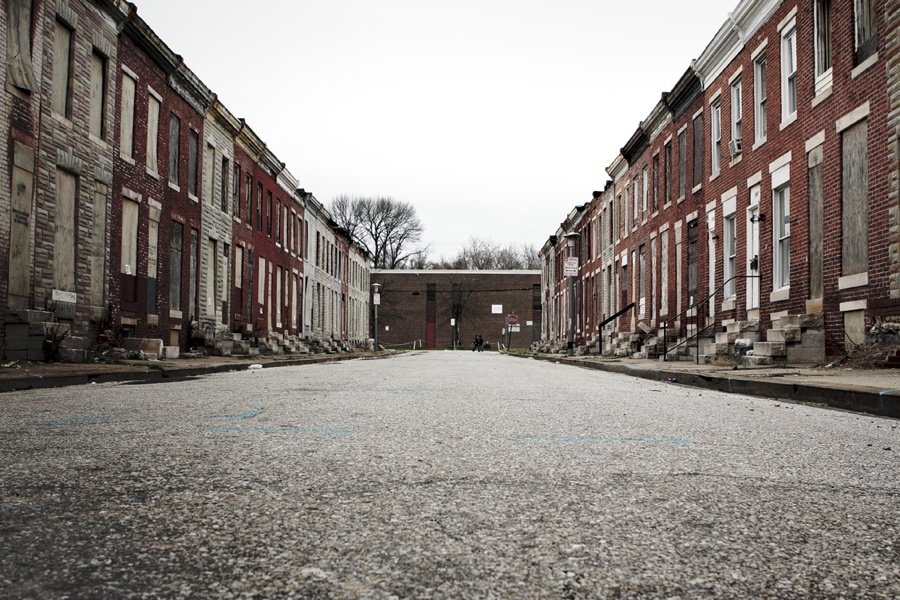 Abandoned Baltimore Street