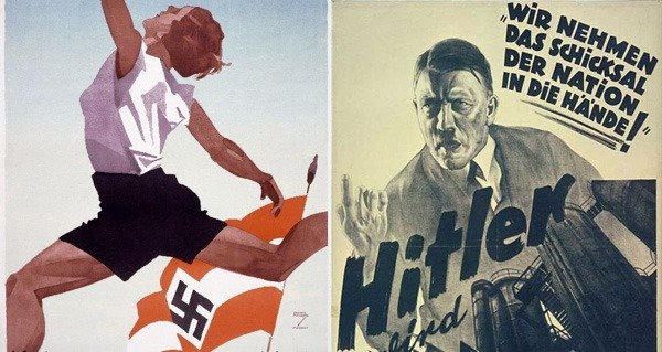 21 Vile Nazi Propaganda Posters That Are Insidiously Well Made