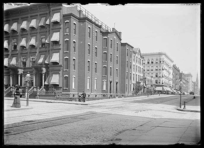 Corner Of Lexington Ave. And E. 82nd Or 84th Street1899