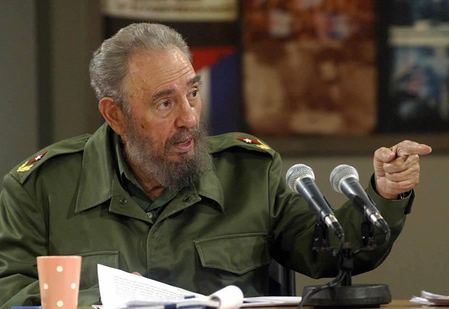 Fidel With Beard