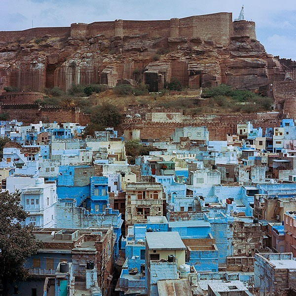 Photos Of The Blue City Of India