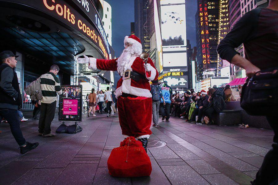 Santa In Ny