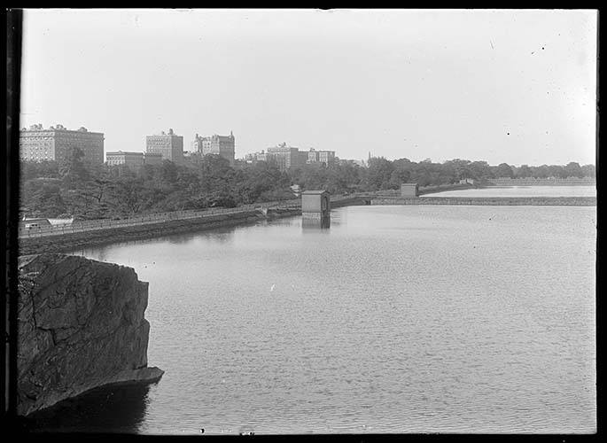 The Central Park Reservoir, New York City, Undated (ca. 1890 1919).