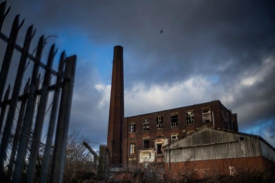 Abandoned Factory Fence