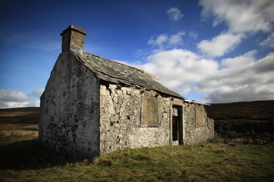 Abandoned Stone Building
