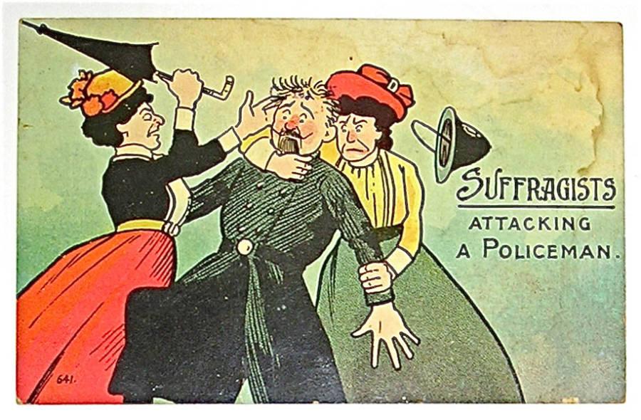 Attacking Policeman