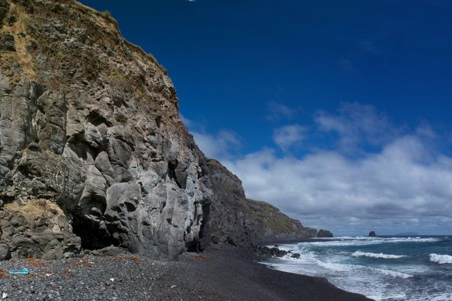 Beach Cliffs Rocks