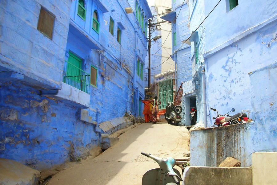 Blue Alley In Jodhpur