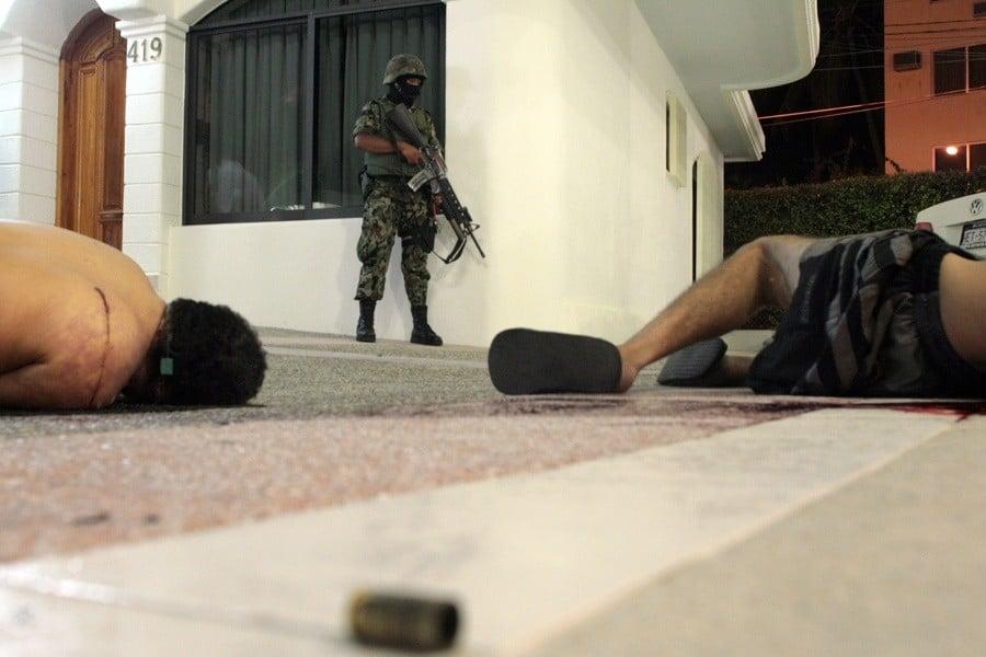 Bodies Soldier Gun