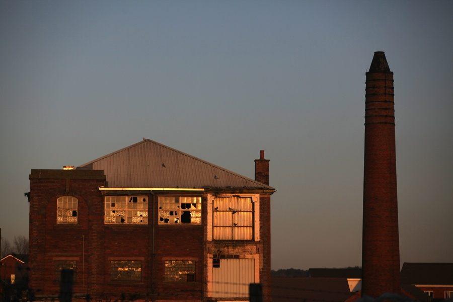 Broken Factory Windows
