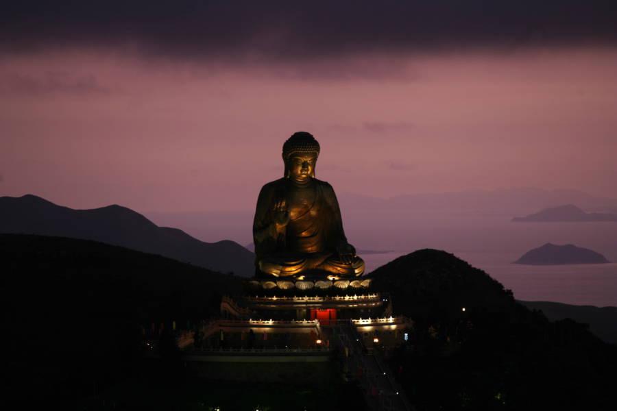 Buddhist Teachings Statue