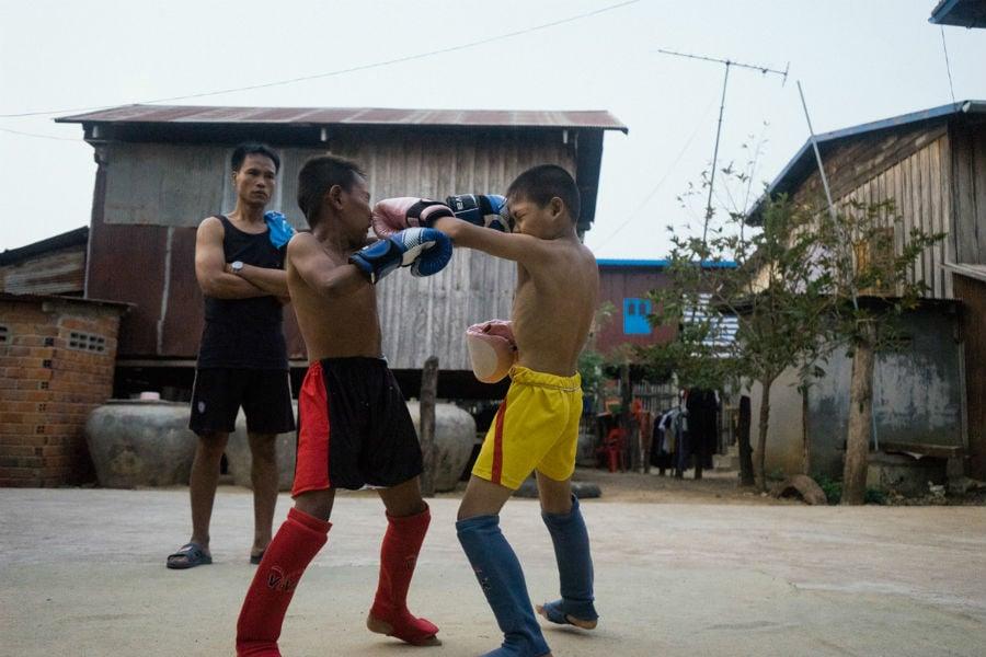 Cambodia Child Boxer 2