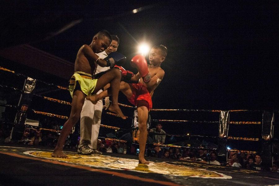 Cambodia Child Boxer 3