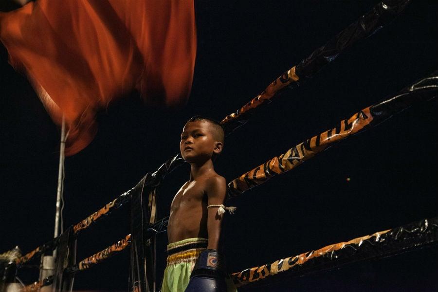 Cambodia Child Boxer