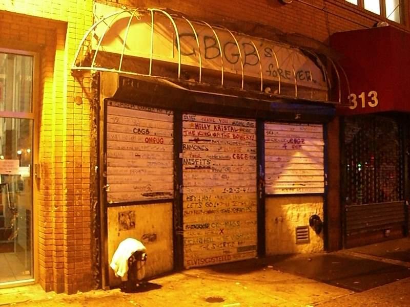 CBGB Closed
