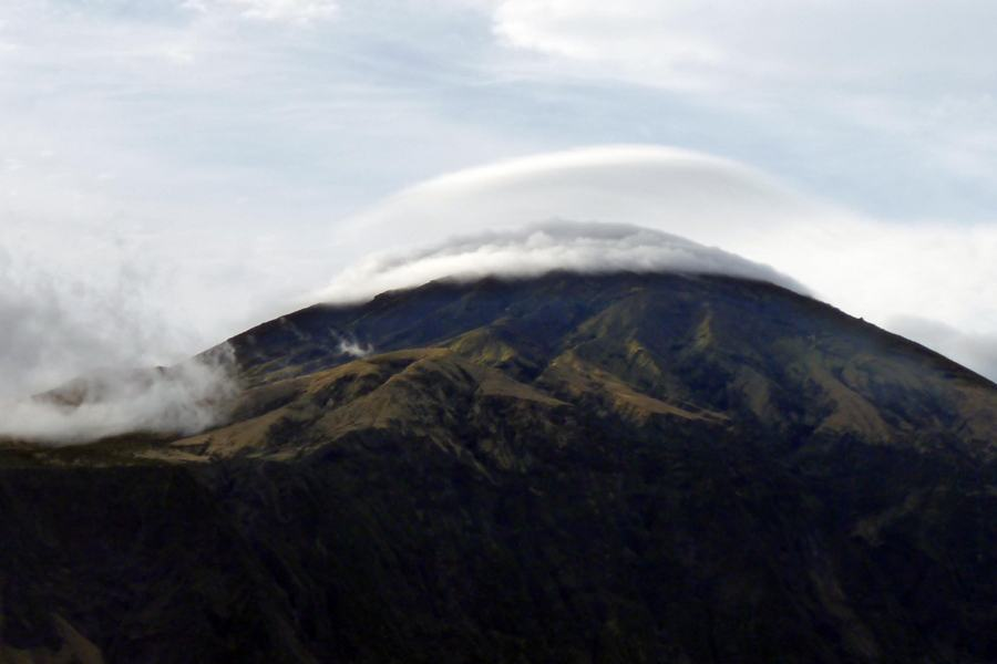 Cloud Ring Over Tristan da Cunha