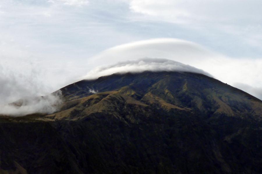 Cloud Ring Over Tristan da Cunha