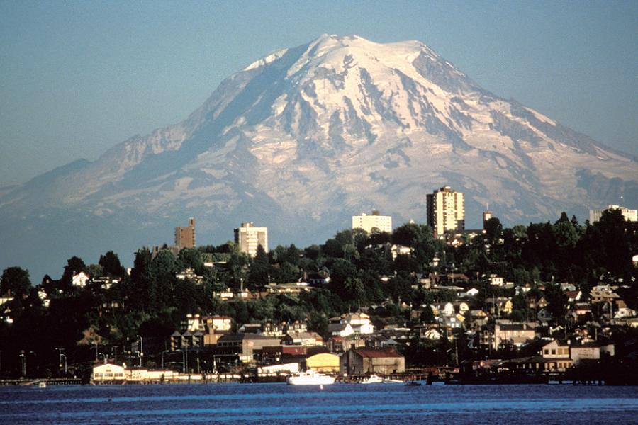 Doomed Cities Tacoma Rainier