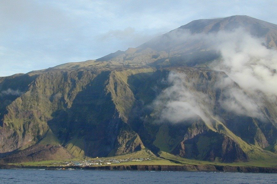 Edinburgh Of The Seven Seas Tristan Da Cunha Vista