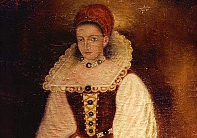 Elizabeth Bathory Portrait Painting