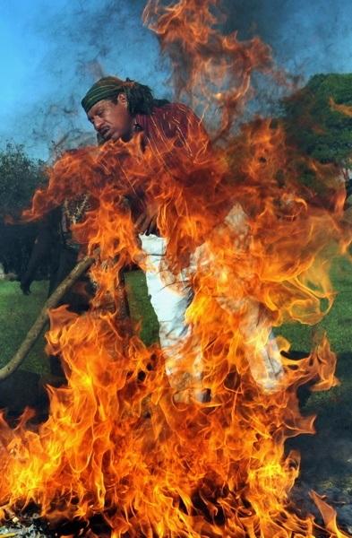 Mayan Fire Ritual