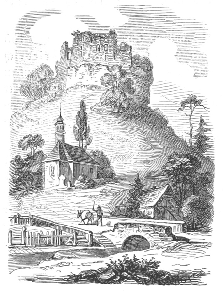 Frankenstein Castle 1852