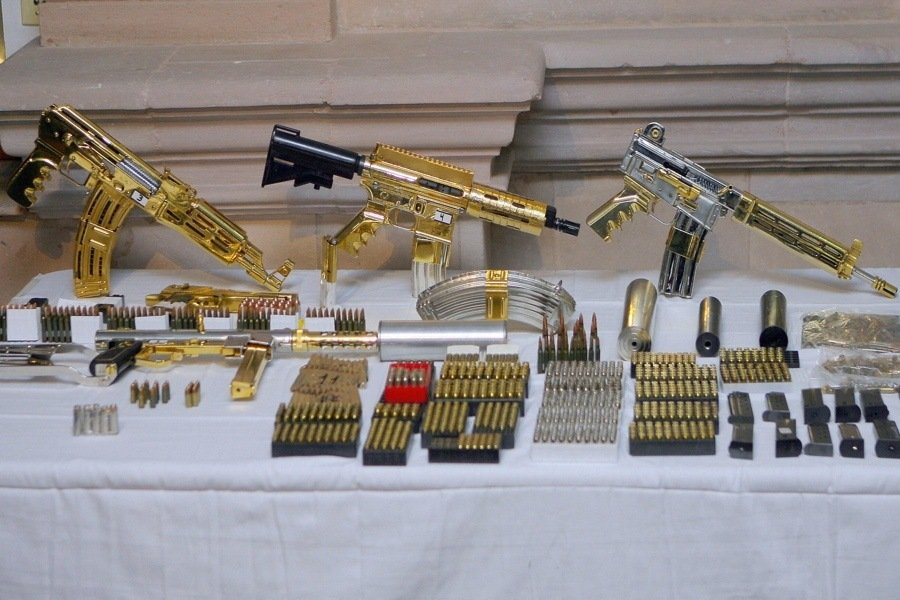 Gold Silver Guns