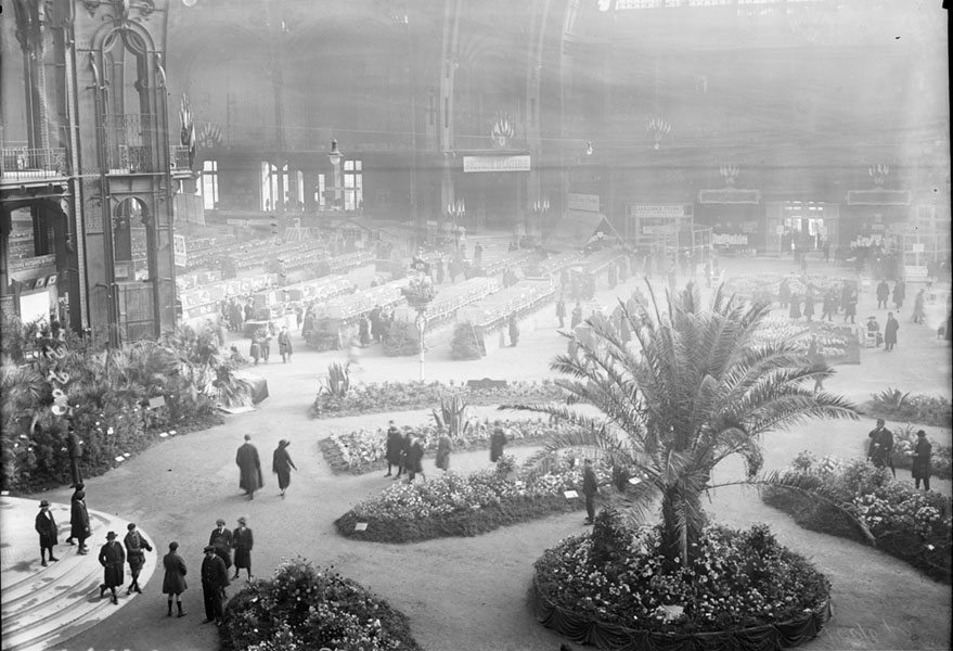 Horticulture Exhibition Grand Palais 1922
