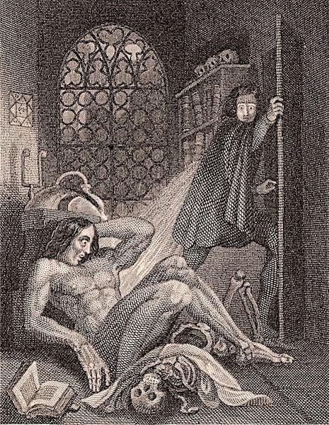 Illustration Revised Frankenstein