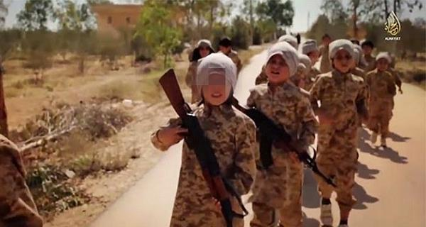 Isis Education Kids March